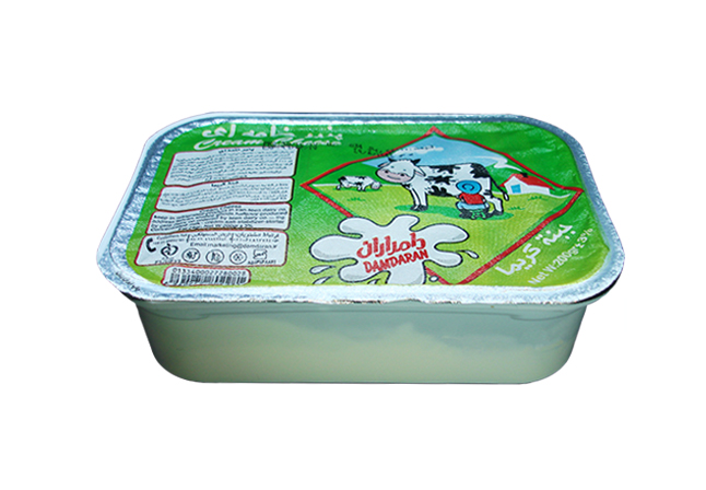 Pasteurized Cream Cheese 200 gr