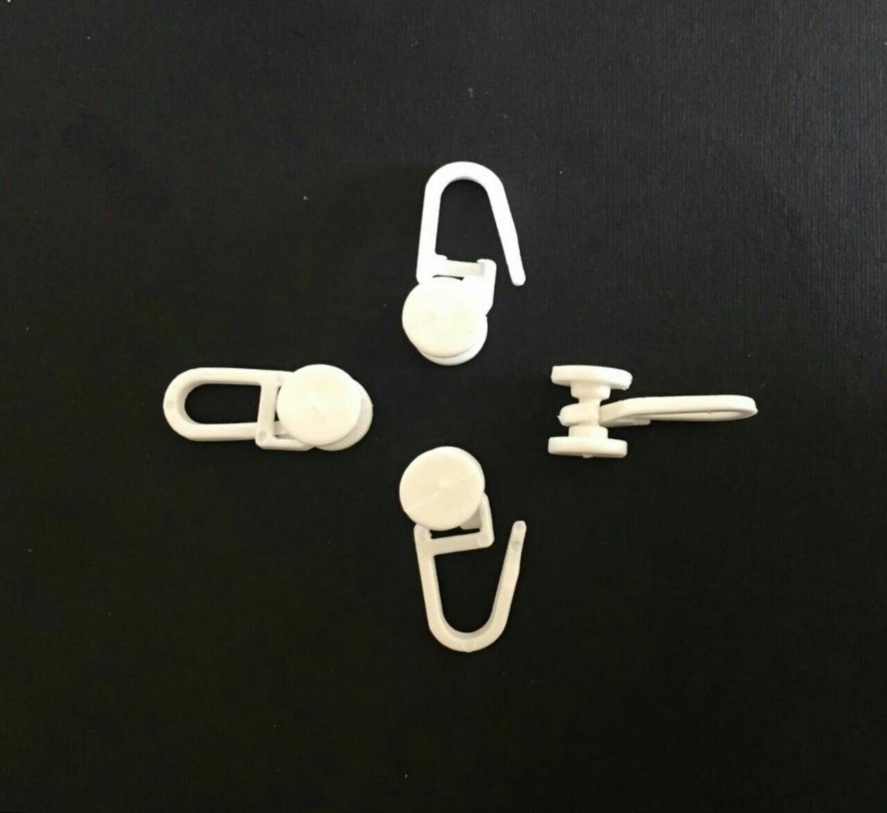 'گیره قفلی پلاستیکی