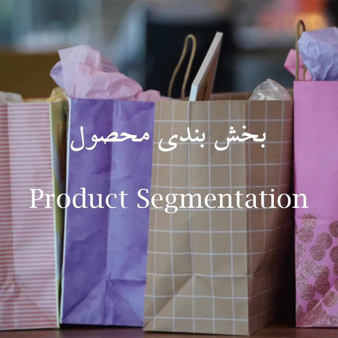 تحقیقات بازار محصول: بخش بندی محصول