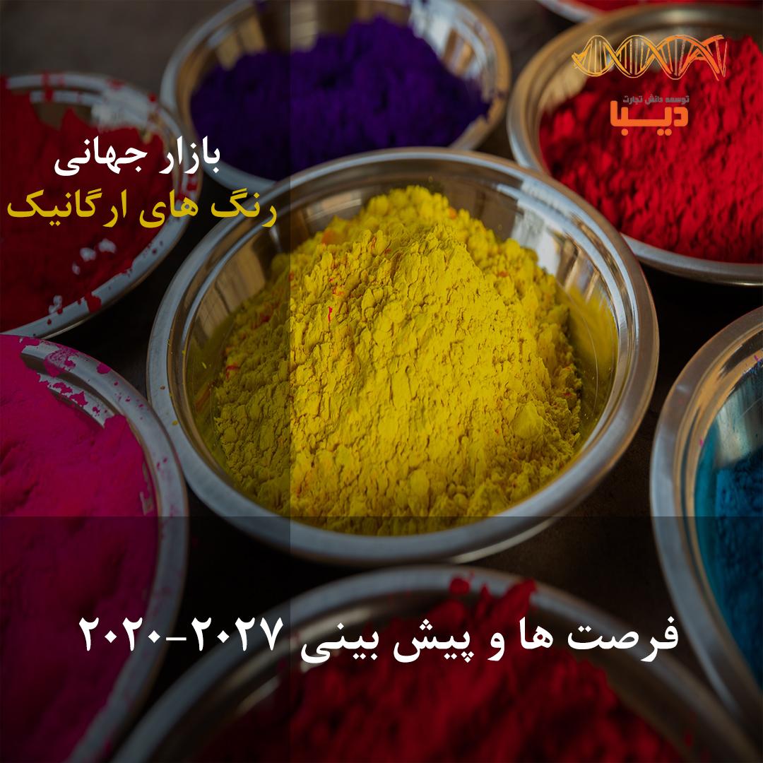 پیش بینی و فرصت های بازار جهانی رنگ های ارگانیک