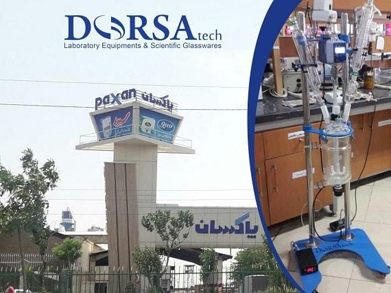 آزمایشگاه تحقیق و توسعه شرکت پاکسان، مجهز به راکتور شیمیایی دو جداره درساتک شد.