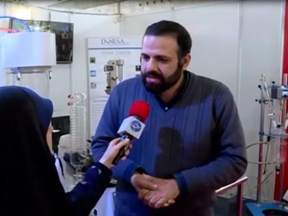 انعکاس خبری محصولات درساتک در دومین نمایشگاه مواد و تجهیزات صنایع شیمیایی شهر آفتاب