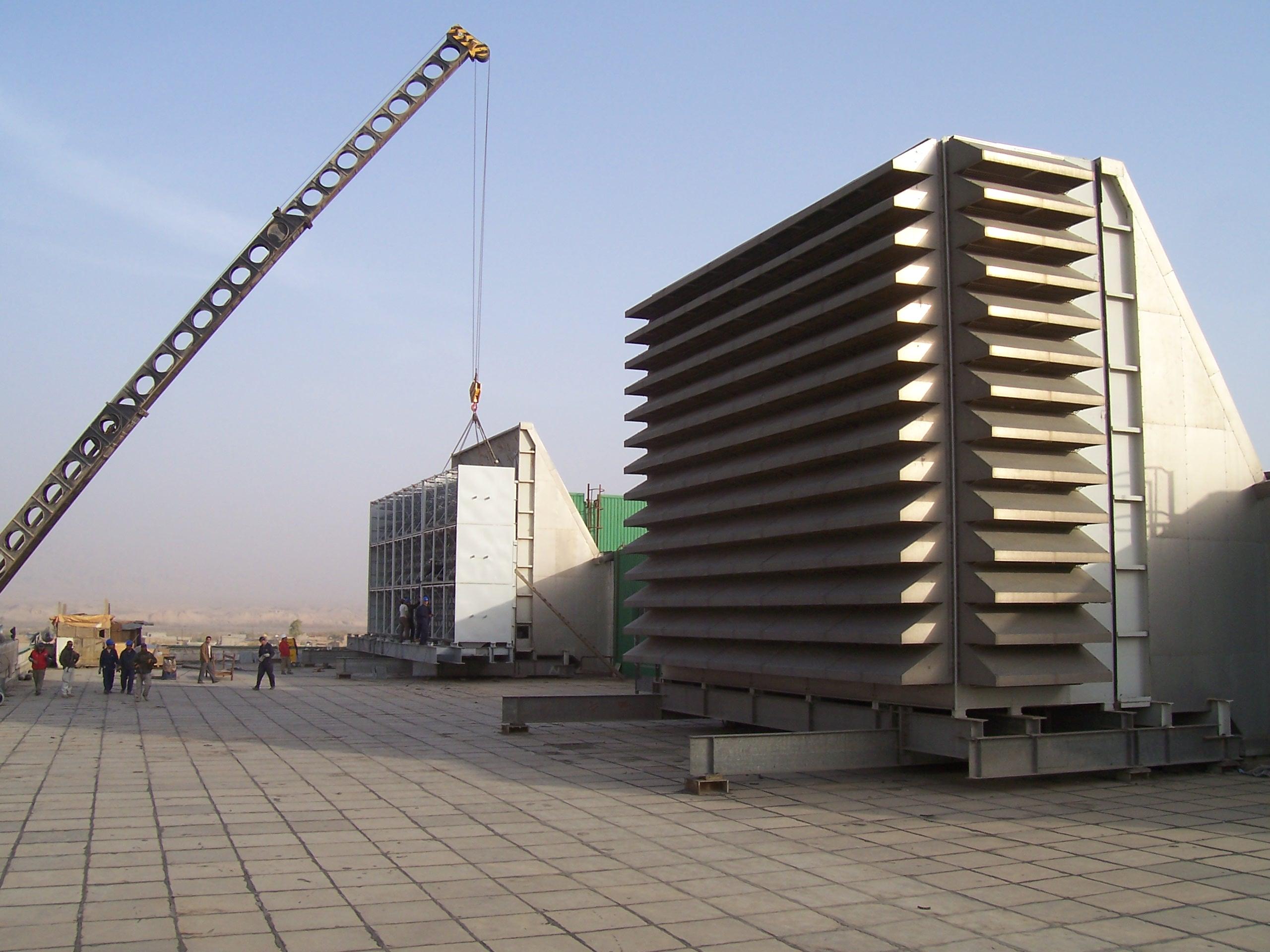 نصب و راه اندازی سیستم هوای ورودی