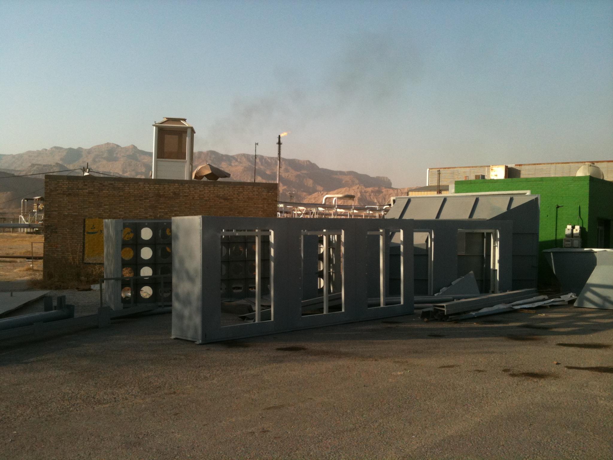 مراحل اولیه پروژه هوای ورودی