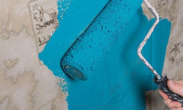 ایده و روش های استفاده از رنگ و کاغذ دیواری