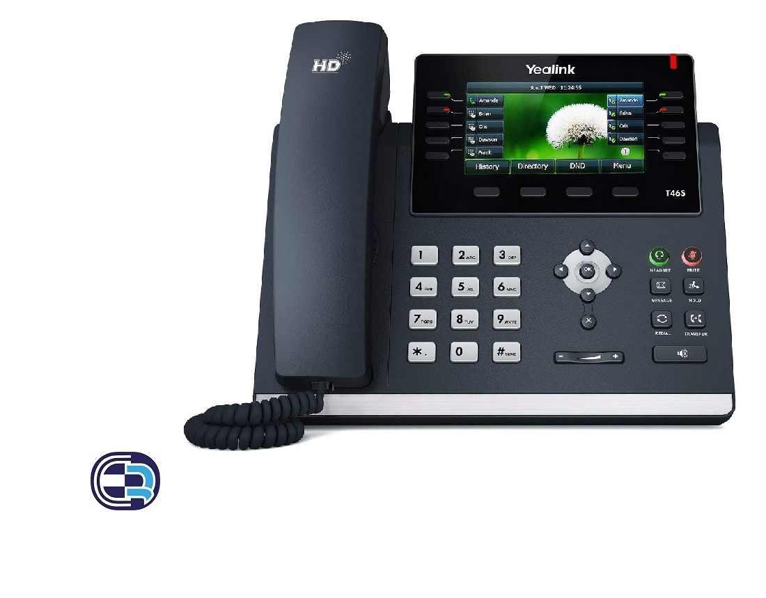 آی پی فون یالینک Yealink SIP-T46S IP Phone T46S