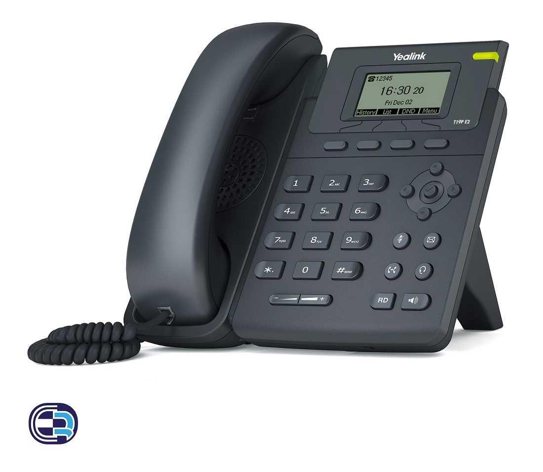 تلفن تحت شبکه یالینک مدل SIP-T19 E2