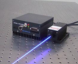 لیزر آبی (435 تا 480 نانومتر)