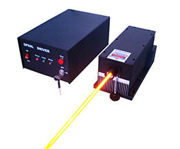 لیزر زرد (560 تا 590 نانومتر)