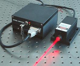 لیزر قرمز (605 تا 760 نانومتر)