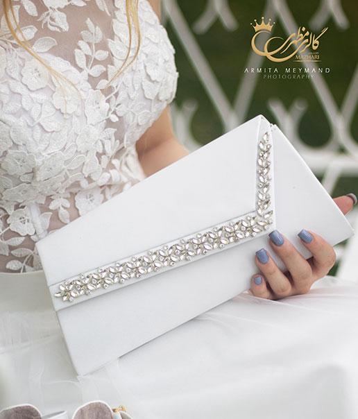 کیف عروس دیزاین شده