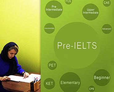 دوره دانش زبانی انگلیسی: ( Online Pre-IELTS)