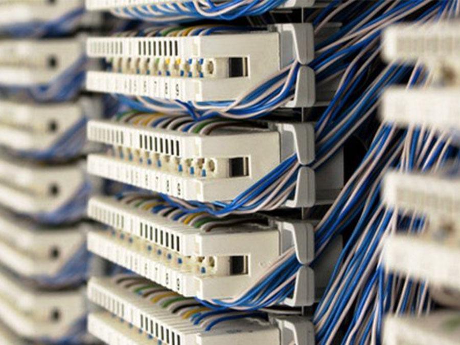 سیم کشی تلفن و نصب سوکت