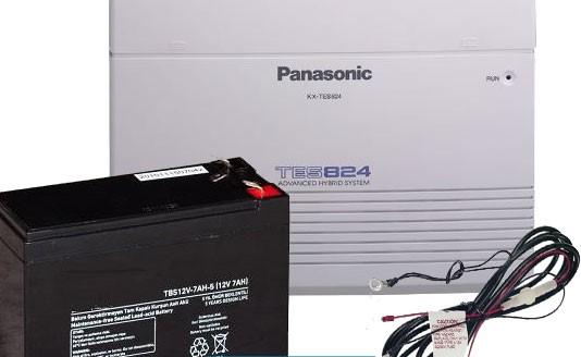 آموزش نصب باتری سانترال 824