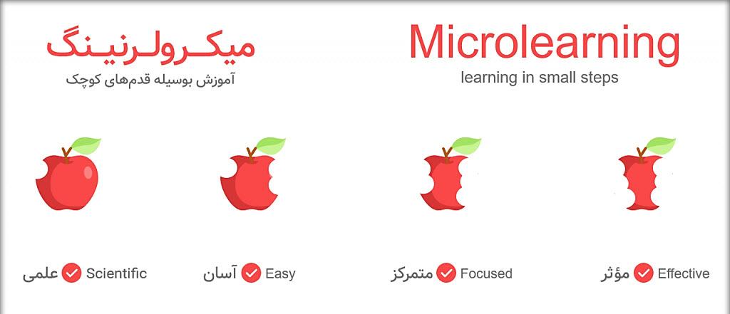 میکرولرنینگ دریچه ای برای آموزش در دنیای پر دغدغه
