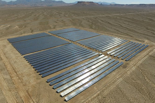 نیروگاه خورشیدی ۳/۵ مگاواتی دهشیر