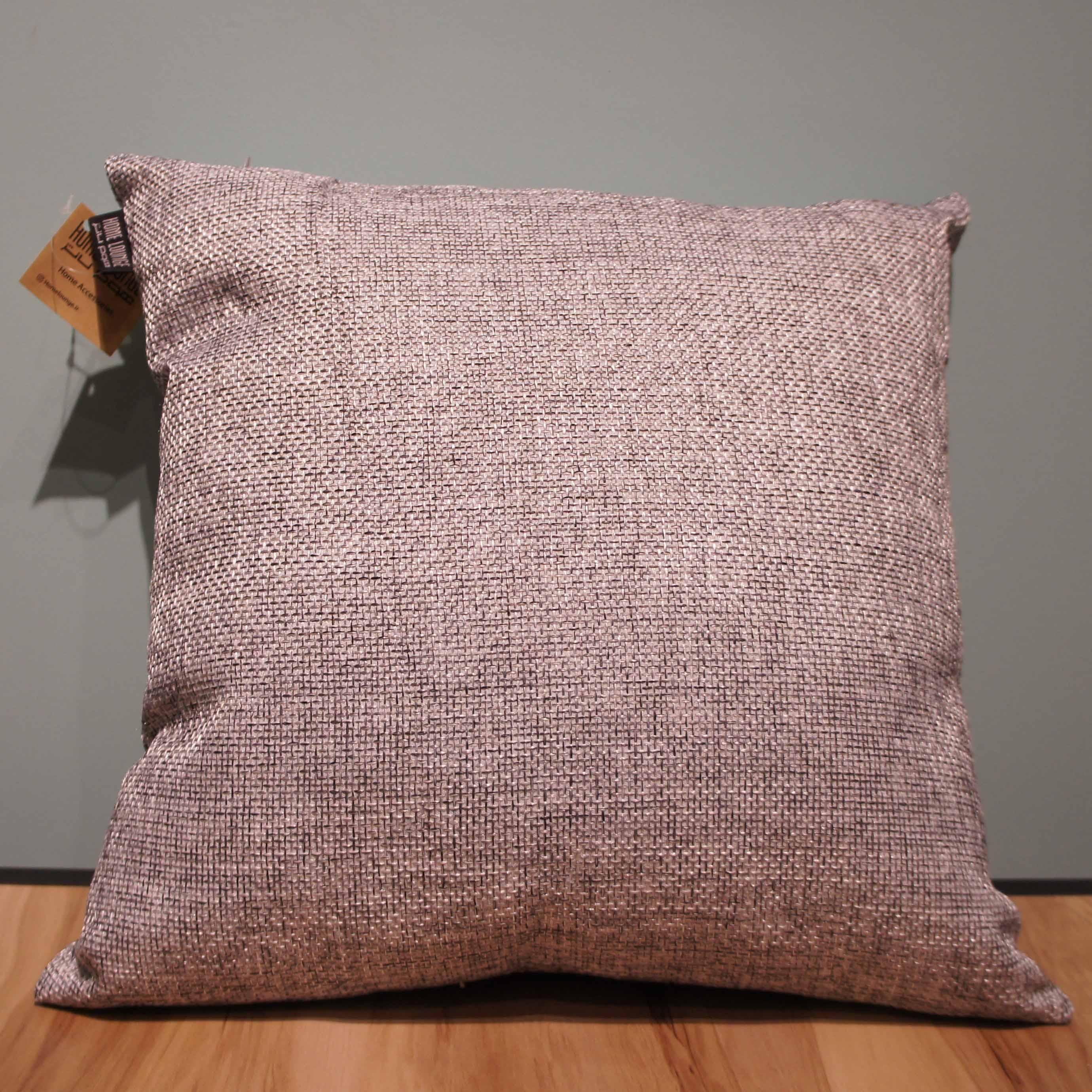 Cushion Cotton - 45.45cm Light Gray
