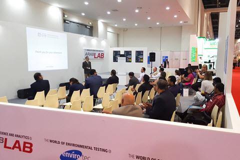 مدیریت شرکت های دانش بنیان منتخب درنمایشگاه Arab Lab 2017 دبی