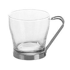 فنجان دسته کروم پاشاباغچه-pacabahce کد 42665