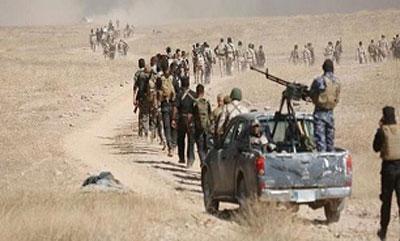 «حشدالشعبی» یورش داعش به «الأنبار» را خنثی کرد