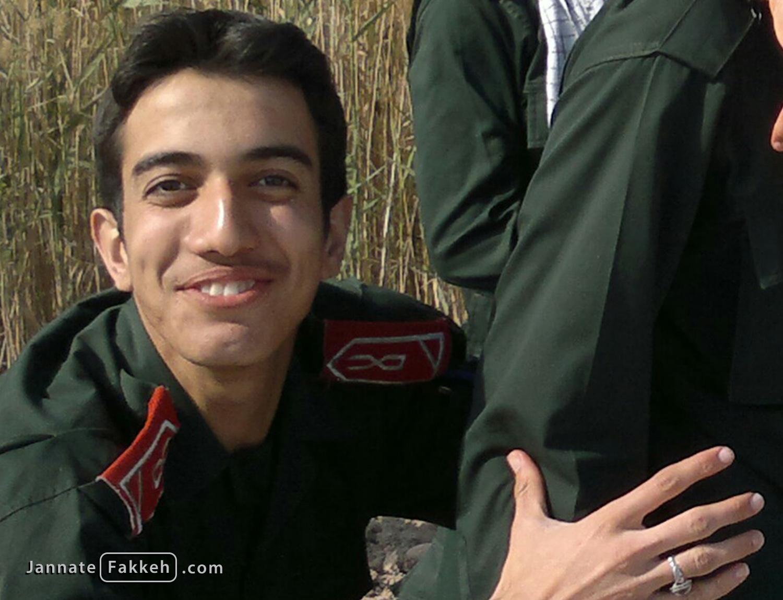 شهید مدافع حرم حامد جوانی - ۱