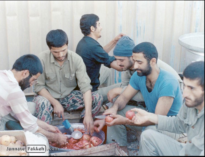 شب یلداد در جبههها - ۳