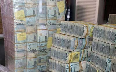 سرقت ۲۸۰ میلیارد ریال یمن توسط تروریستهای وابسته به امارات در حضرموت
