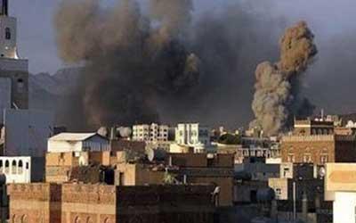 ائتلاف سعودی مناطقی از صنعاء را بمباران کرد