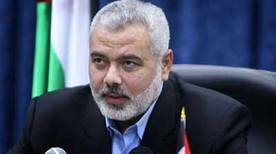 پیام هنیه تسلیم رئیس حزب سوری در لبنان شد
