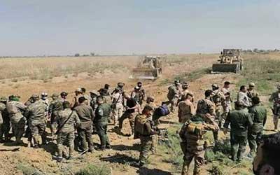 کشته شدن ۵ داعشی در عملیات نیروهای ارتش و «الحشد» عراق
