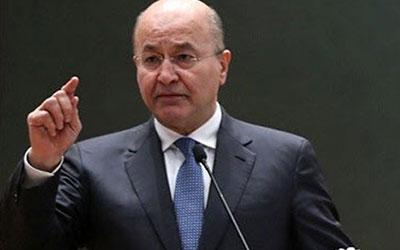 درخواست صالح از گوترش برای حمایت از برگزاری انتخابات در عراق