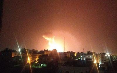جنگندهها و پهپادهای رژیم صهیونیستی بامداد شنبه به مناطقی در نوار غزه حمله کردند.