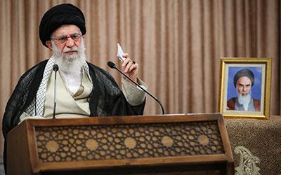 سخنرانی تلویزیونی امام خامنهای خطاب به ملت ایران