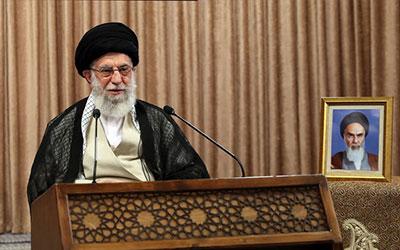 سخنرانی تلویزیونی امام خامنهای در روز قدس