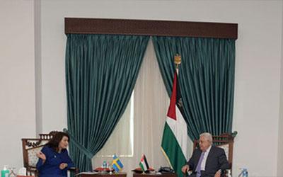 تاکید سوئد بر حمایت از فلسطین