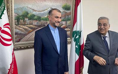 وزیر خارجه لبنان: بهبود روابط با ایران را ادامه میدهیم