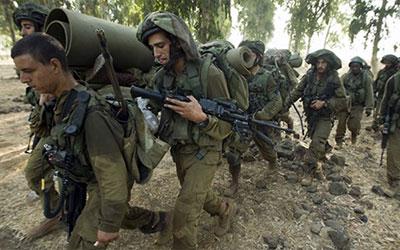 رزمایش نظامی رژیم صهیونیستی در مرز نوار غزه