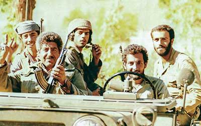 فرمانده توپخانه سپاه