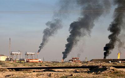 داعش دو چاه نفت در کرکوک عراق را منفجر کرد