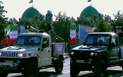 رونمایی از دو سامانه پدافندی جدید در رژه روز ارتش/ «مجید» و «ذوالفقار» قاتل جدید موشکهای کروز