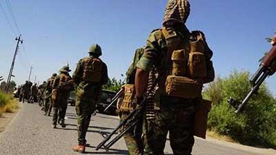 کشف اردوگاه زیرزمینی داعش توسط الحشد الشعبی در شمال بغداد