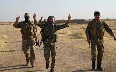 انهدام زرادخانه داعش در شرق عراق توسط الحشد الشعبی