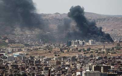 شهادت یک دختربچه و یک زن مسن به دنبال حمله هوایی ائتلاف سعودی به یمن