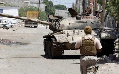 مزدوران وابسته به ریاض و حزب «الاصلاح» در مأرب یمن به جان هم افتادند
