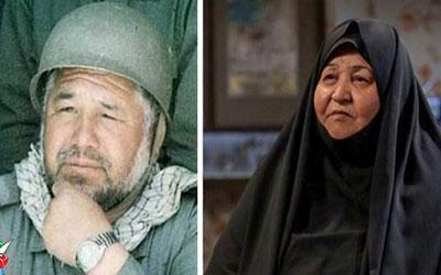 همسر سردار شهید «نظرنژاد» آسمانی شد
