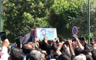 مراسم تشییع پیکر پاک شهید «اصغر پاشاپور» آغاز شد+ تصاویر