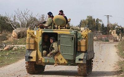 یک کاروان نظامی دیگر ترکیه وارد سوریه شد
