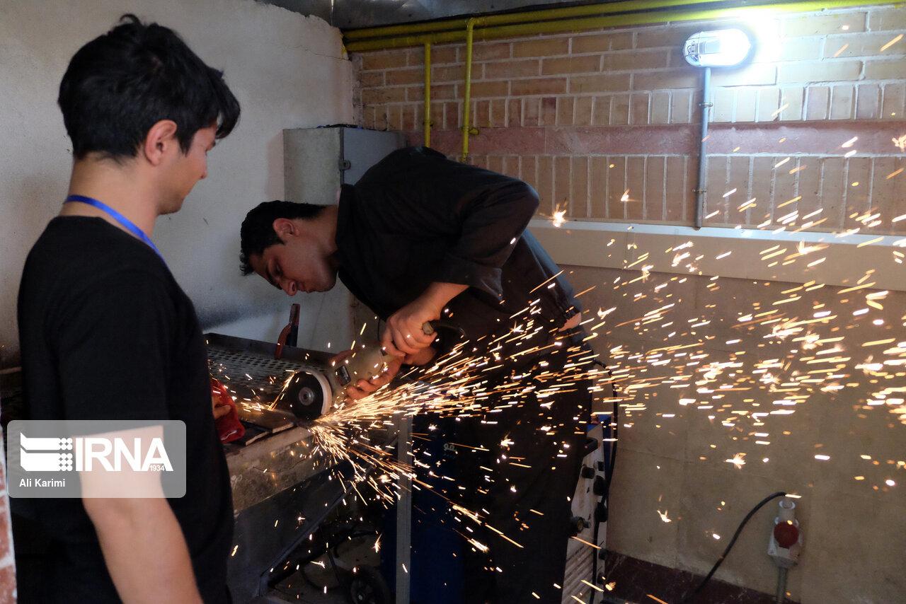 اولین مسابقات سراسری جوشکاری در دانشگاه اراک آغاز شد