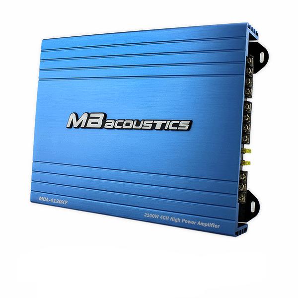 MBA 4120XF آمپلی فایر چهار کانال ام بی آکوستیک