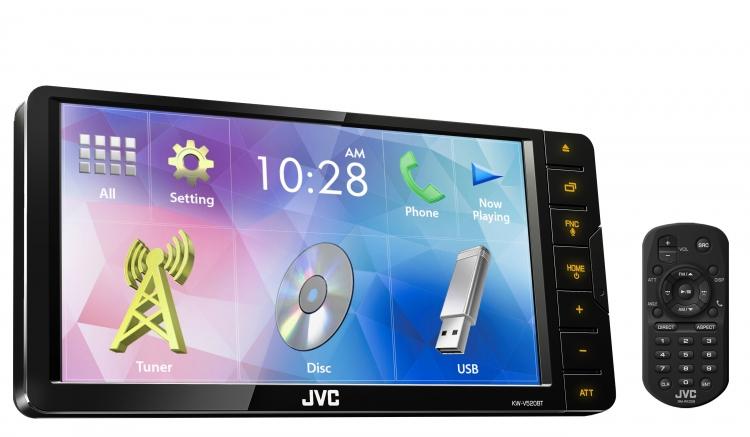 KW-V520BTM پخش تصویری جی وی سی JVC